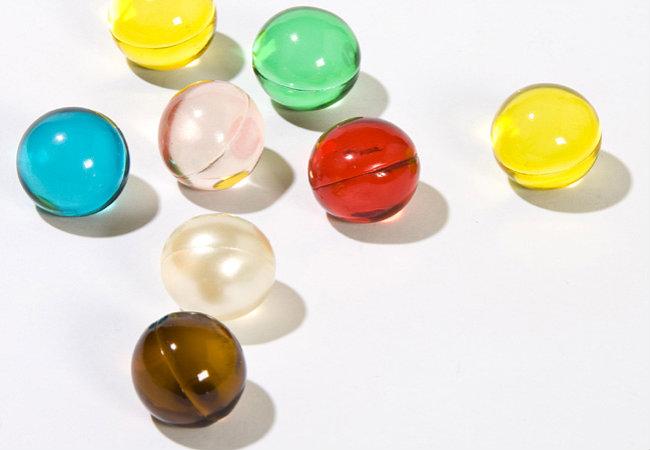 bolinhas para sexo coloridas