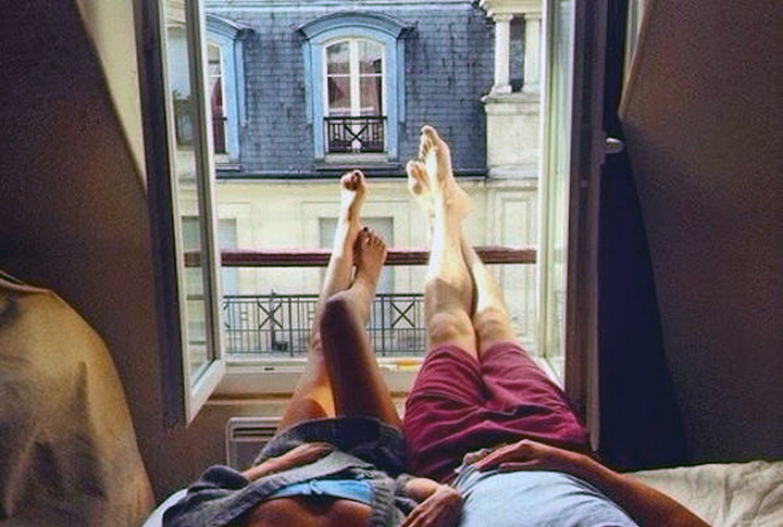 casal relaxado