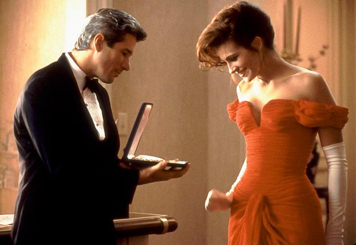 filmes de comédia romântica Uma Linda Mulher